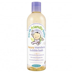 Earth Friendly Baby Happy Mandarin Bubble Bath 300ml