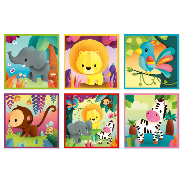 Kubkid Jungle Animals 9pc