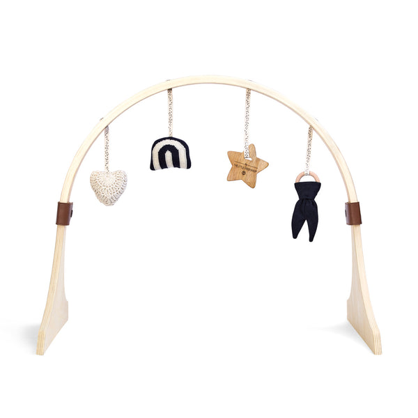 Curved Baby Play Gym & Charms Set