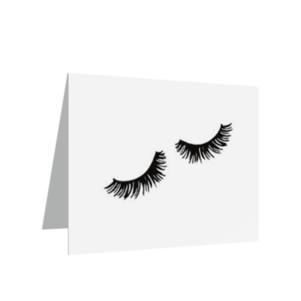 (10) Greeting Cards - Lashes-All Products-LASHtini