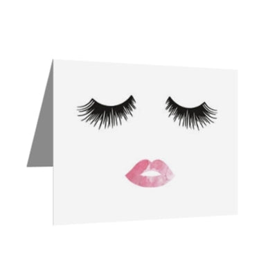 (30) Greeting Cards - Lashes & Lips-All Products-LASHtini