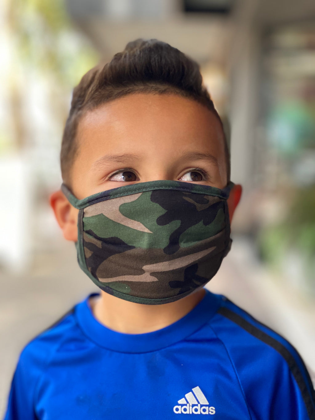 Mask - Camo (green) KIDS