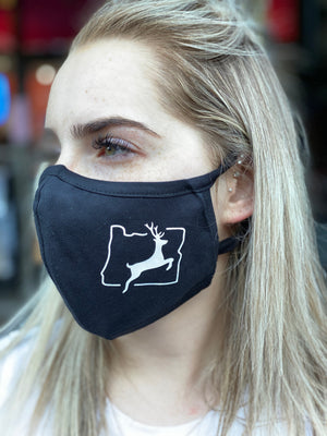 Washable & Reusable Mask -  Oregon Deer