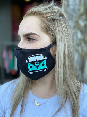 Washable & Reusable Mask -  VW Bus