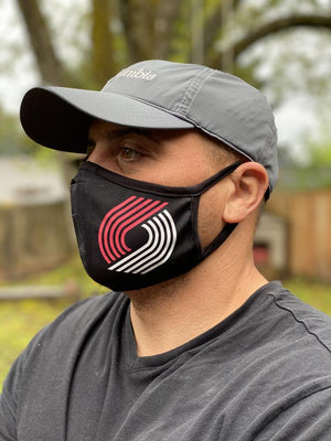 Washable & Reusable Mask - Portland Trail Blazers