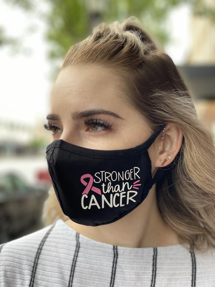 Washable & Reusable Mask - Stronger than Cancer