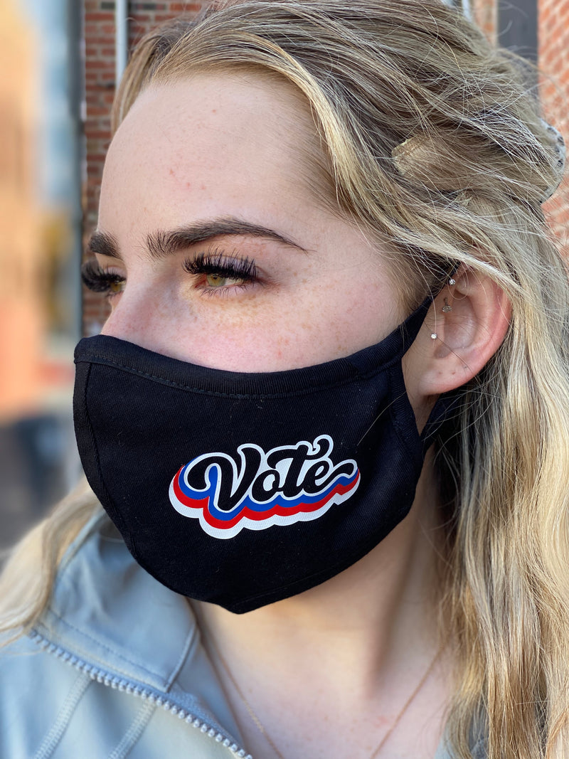 Washable & Reusable Mask - Vote