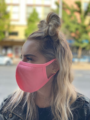Mask - Solid (hot pink)