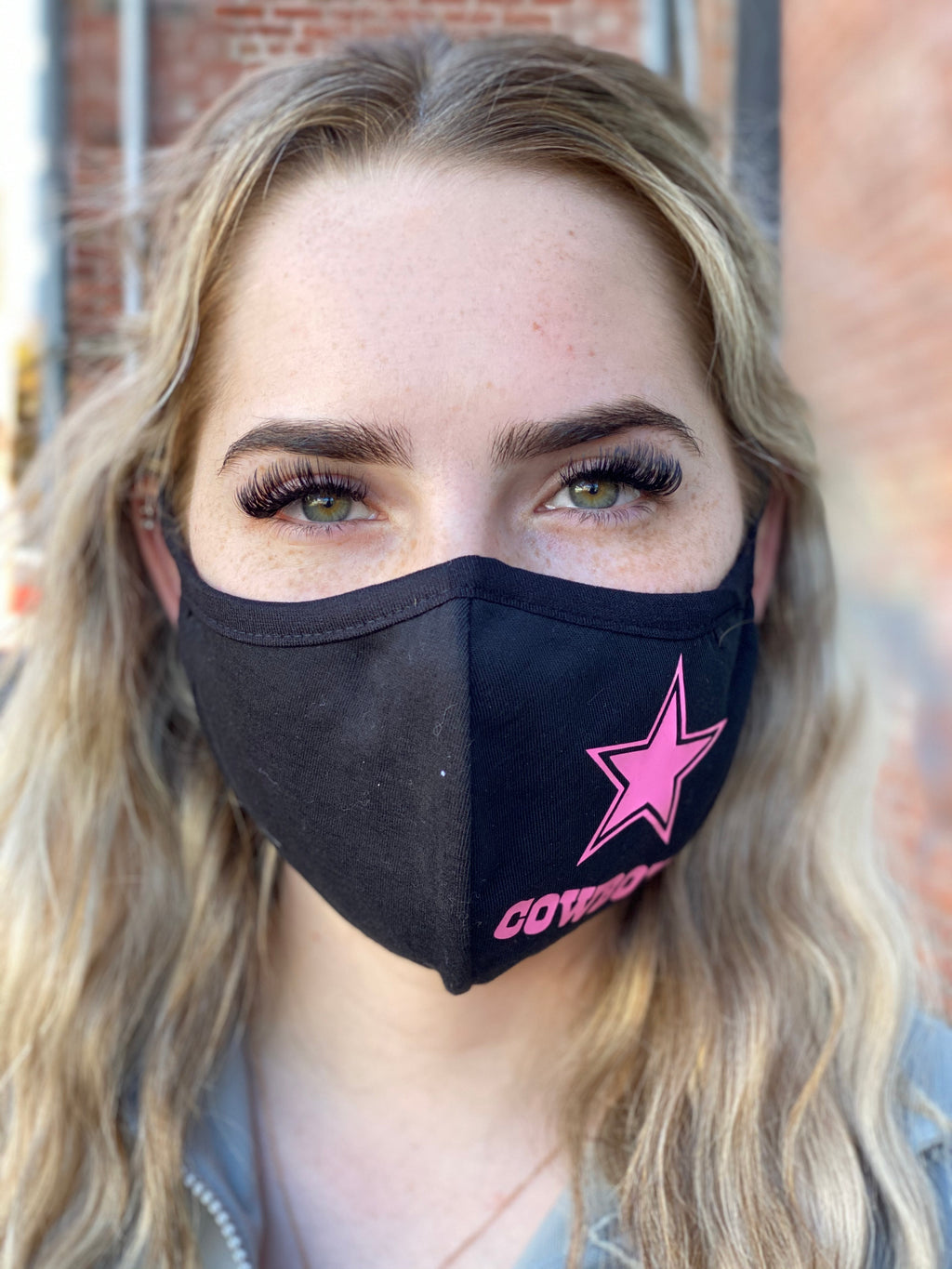 Mask - Dallas Cowboys (pink)