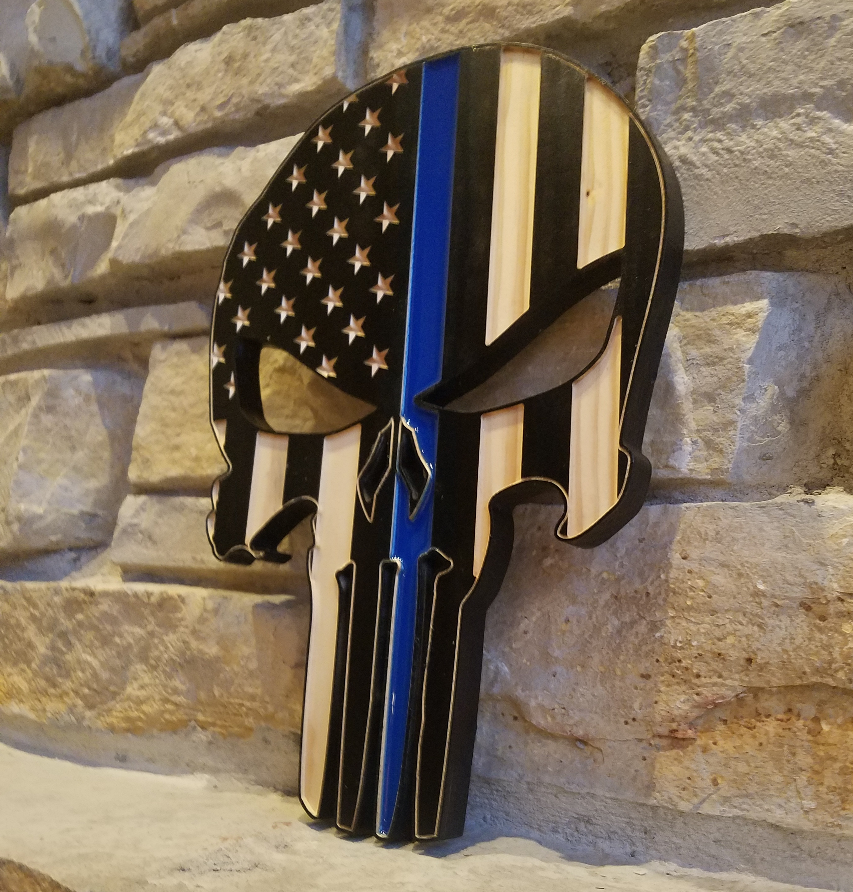 Punisher Skull Flag