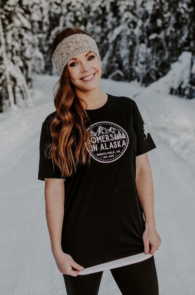 Somers In Alaska Logo T-Shirt