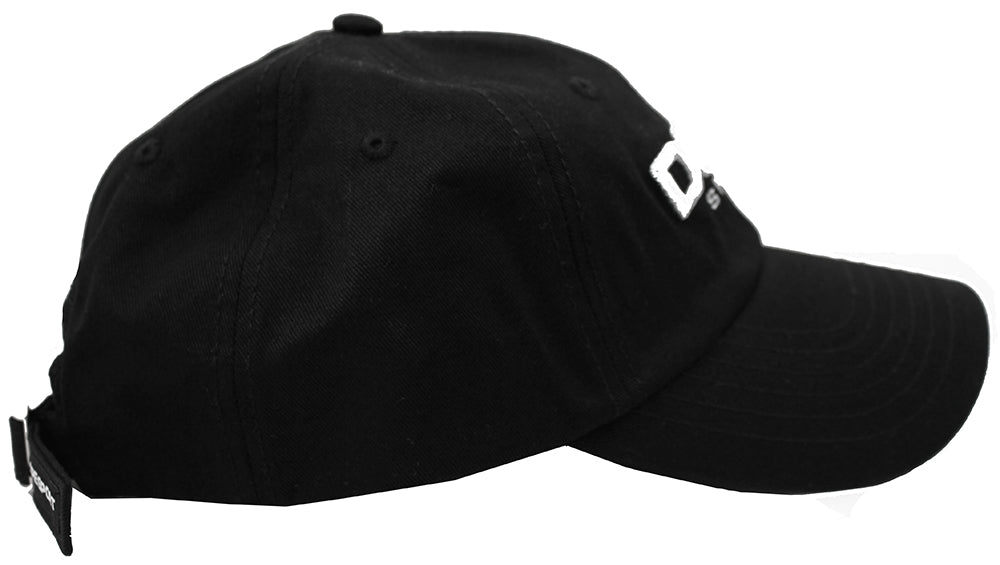 super popular e6992 116b1 DOPE Sport Dad Hat Strapback Black