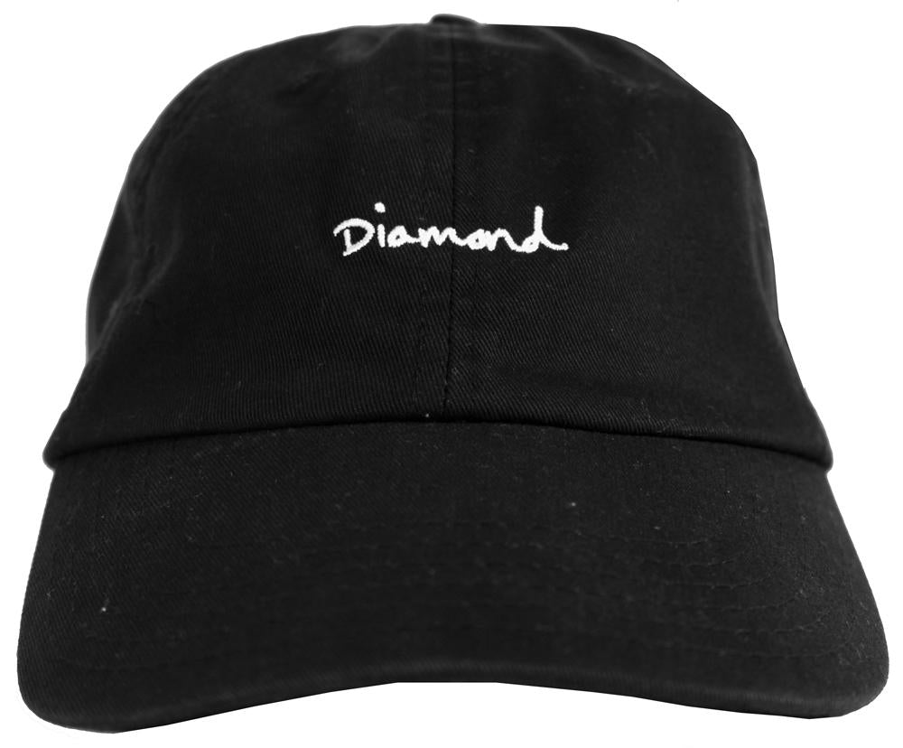 ... usa diamond supply co dad hat black 99288 23db8 e5d6b96e625