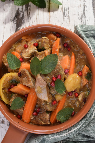 SPICED PORK with ROOT VEGETABLES