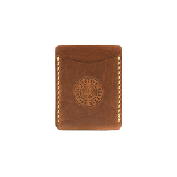 The Pioneer Wallet - Mahogany