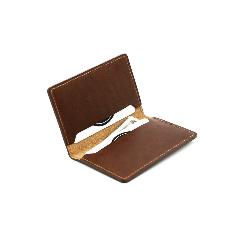Business Card Holder -Mahogany