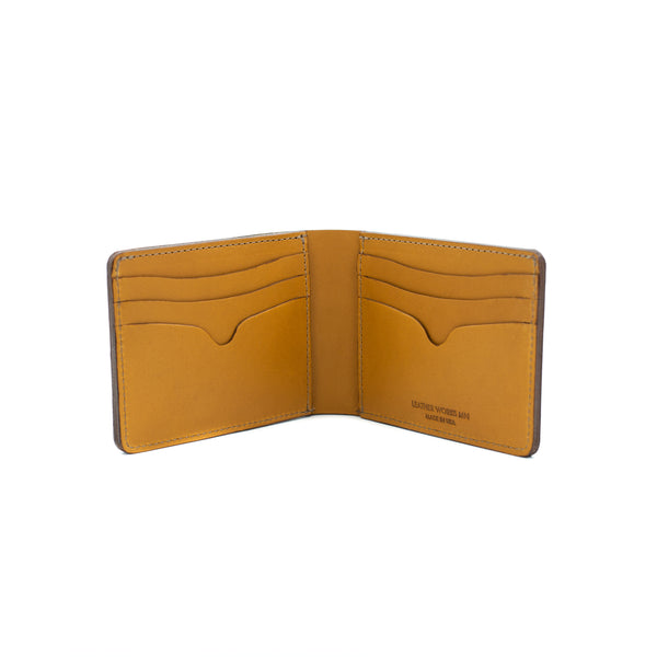 No. 9 Wallet - Black & Tan
