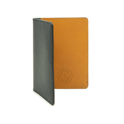 Navigator Note Wallet - Black & Tan