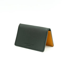 Business Card Holder  - Black & Tan