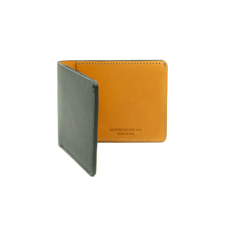 Dad's Billfold - Black & Tan