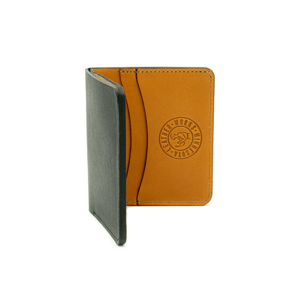 Capital Wallet - Black & Tan