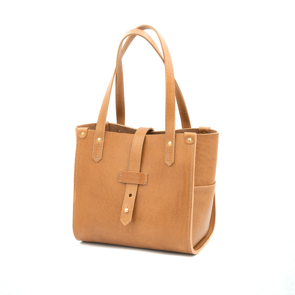 Small Prairie Tote - Saddle Tan