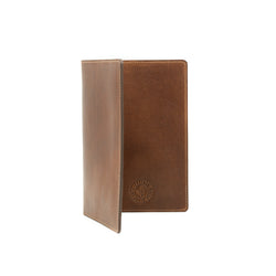 Large Navigator Note Wallet - Mahogany