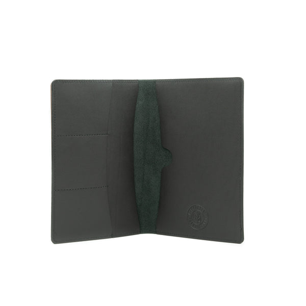 Large Navigator Note Wallet - Black