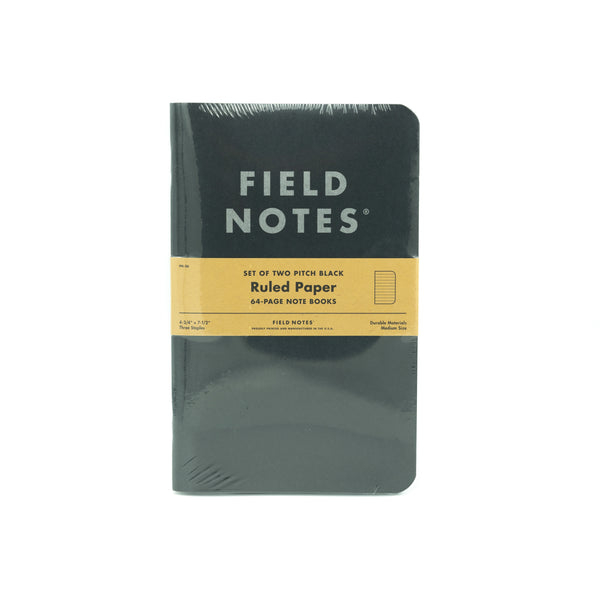 Field Notes - Pitch Black Large