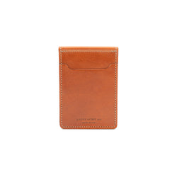Money Clip Wallet - Chestnut