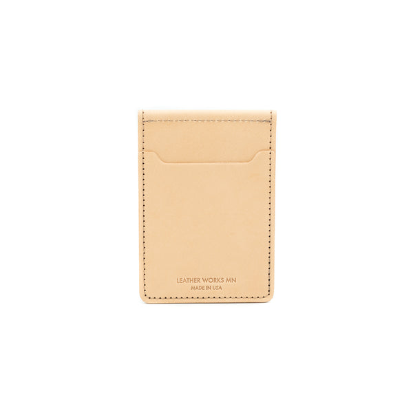 Money Clip Wallet - Natural
