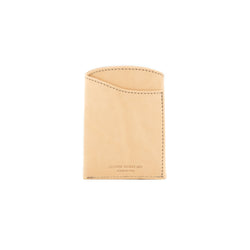 Front Pocket Flap Wallet - Natural