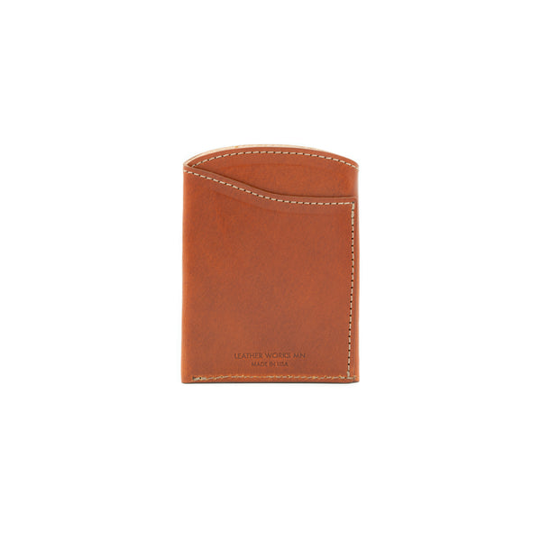 Front Pocket Flap Wallet - Chestnut