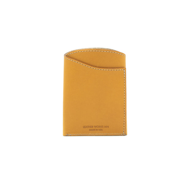 Front Pocket Flap Wallet - London Tan 1