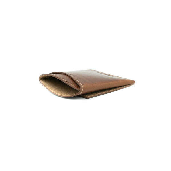 Front Pocket Flap Wallet - Mahogany