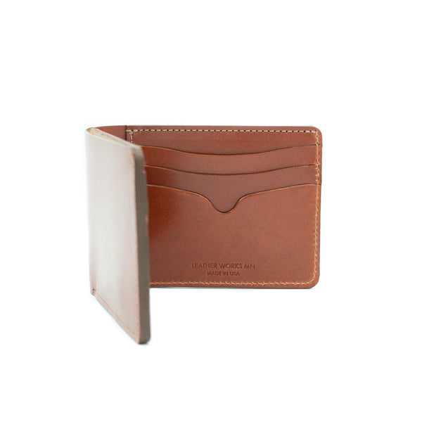No. 9 Wallet - Chestnut
