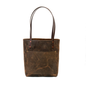 The Gina Tote  - Brown