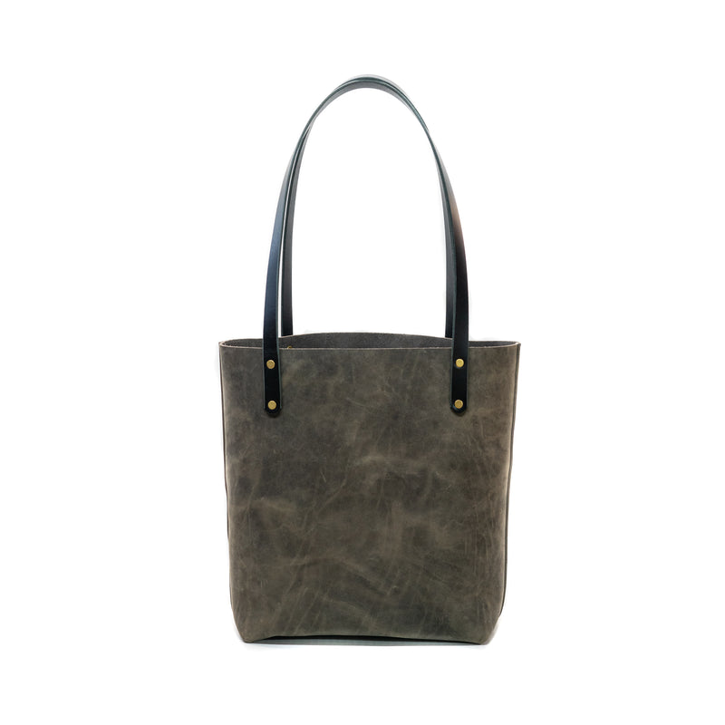 The Gina Tote  - Carbon Gray