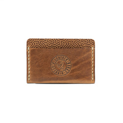 "Union Wallet -  ""Coral"" Saddle Tan"