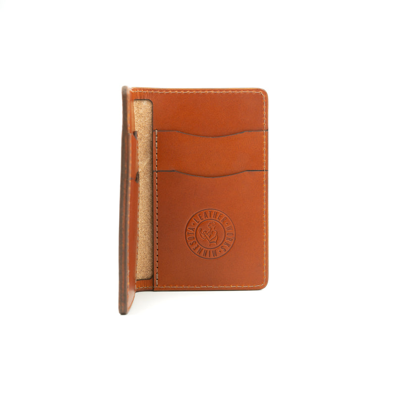 The Boxer Wallet - Chestnut