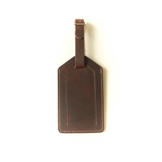 Bag Tag - Mahogany 1