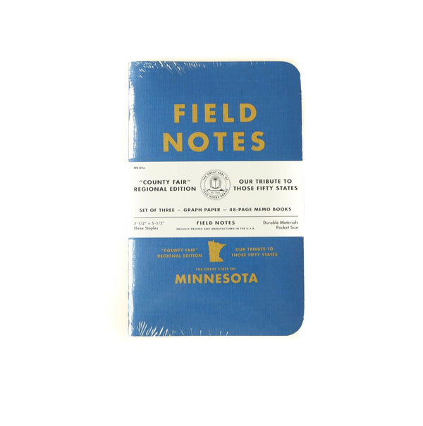 Field Notes - 3 Pack/ Minnesota State Fair