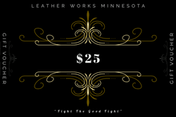 Leather Works Minnesota Gift Card