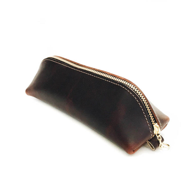 No. 1 Pencil Case - Mahogany 1