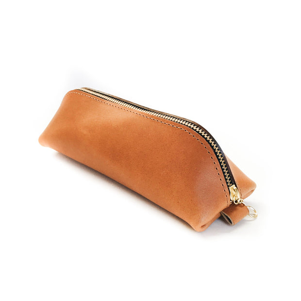No. 1 Pencil Case - London Tan 1