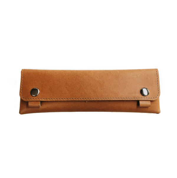 No. 2 Pencil Case  - London Tan