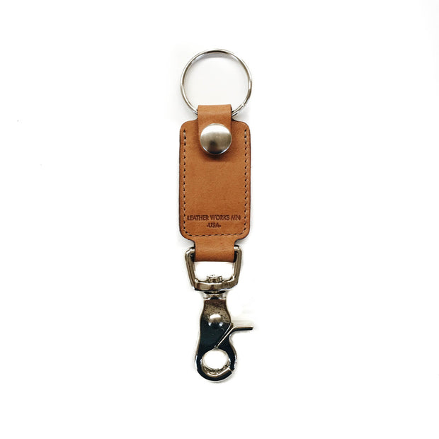 Rein Clip Key Fob - London Tan 1