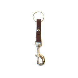 Loop Key Fob - Chocolate Brown