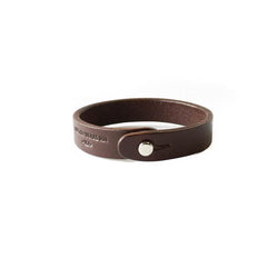Single Wrap Cuff - Chocolate Brown