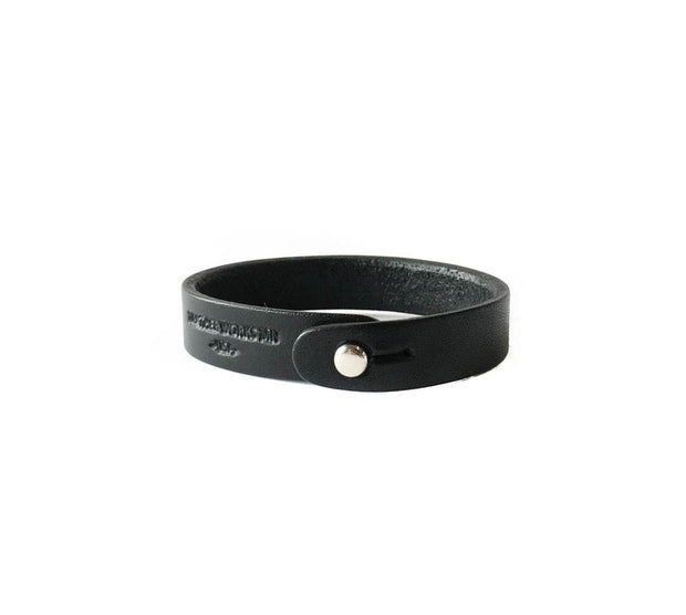 Single Wrap Cuff - Black 1